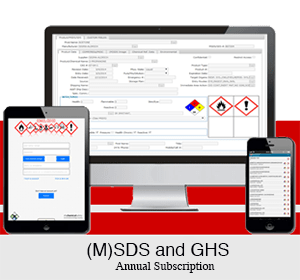 (M)SDS and GHS cloud software solutions