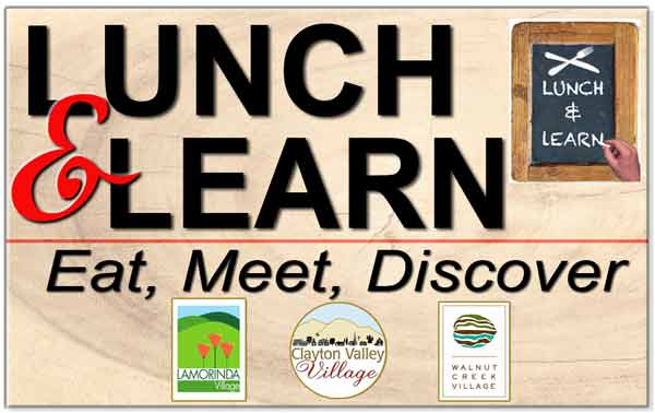DIABLO VALLEY VILLAGES LUNCH 'N' LEARN - CONFLICT RESOLUTION FOR THE CHALLENGES OF AGING picture