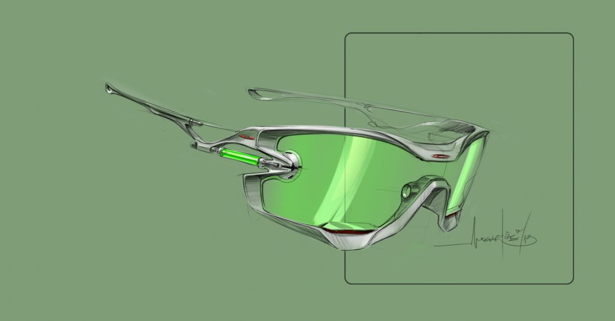 oakley glasses design  the project was not without its hurdles. the team hit a major hitch with the removable impact resistant lens. with jawbreaker's large design, removing the