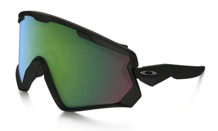 oakley mirror glass  wind jacket 2.0