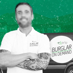 NETGEAR - Arlo Burglar on Demand