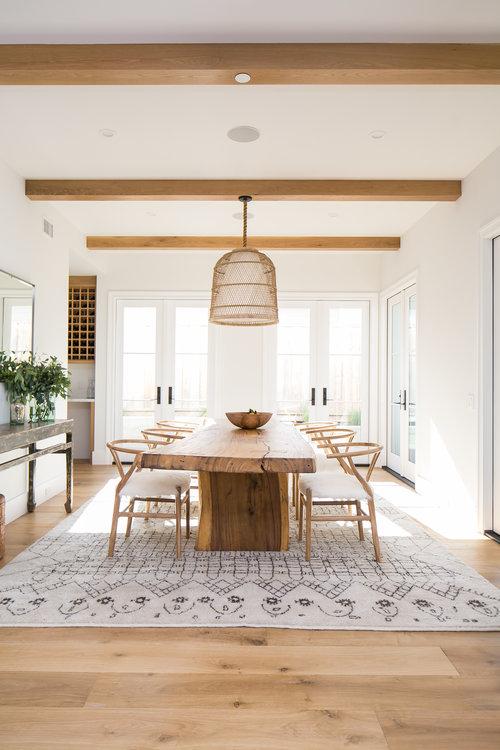 10 Modern Dining Room Ideas With a Farmhouse Twist