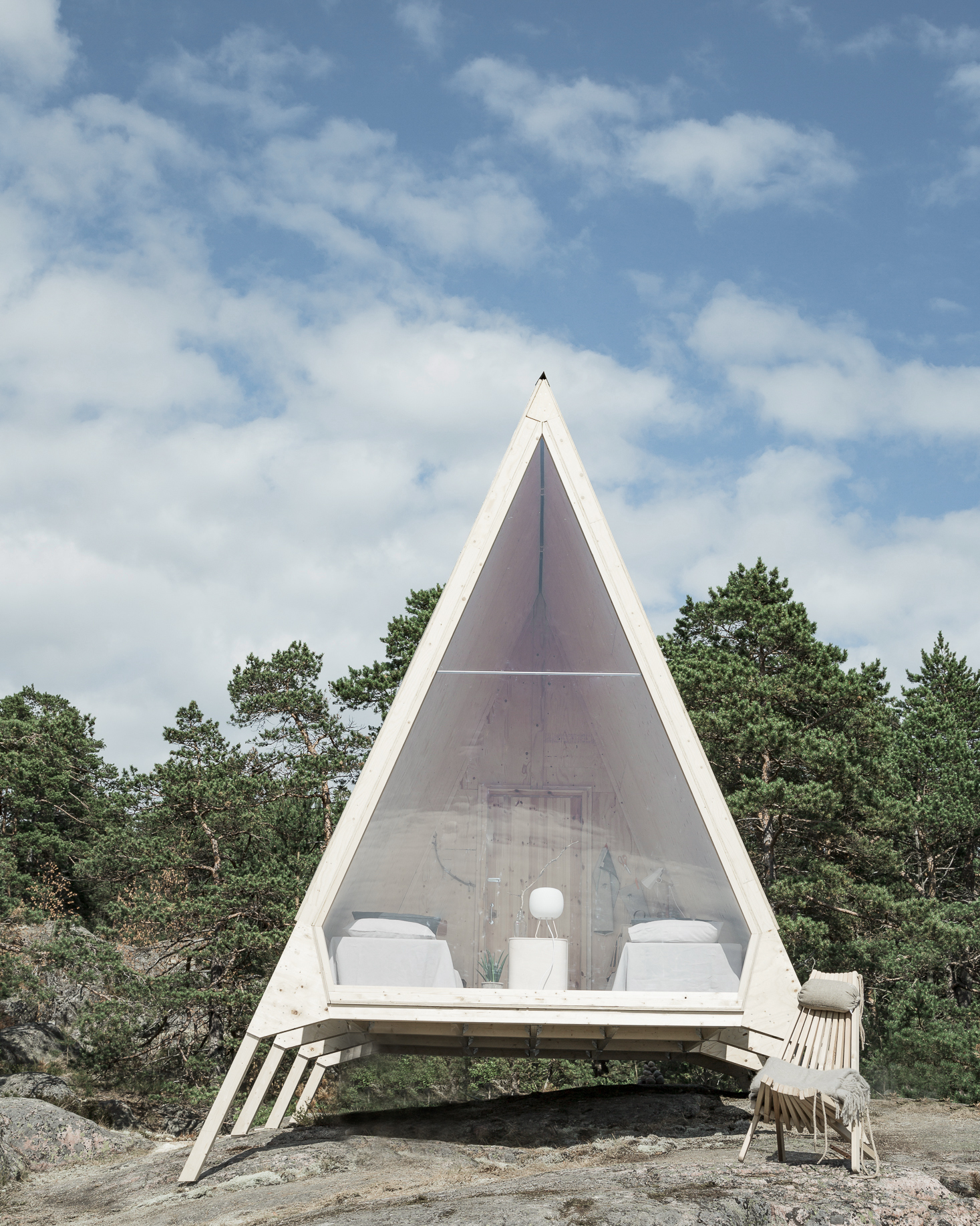 A One-Room Cabin in Finland Is a Lesson in Zero-Waste Design