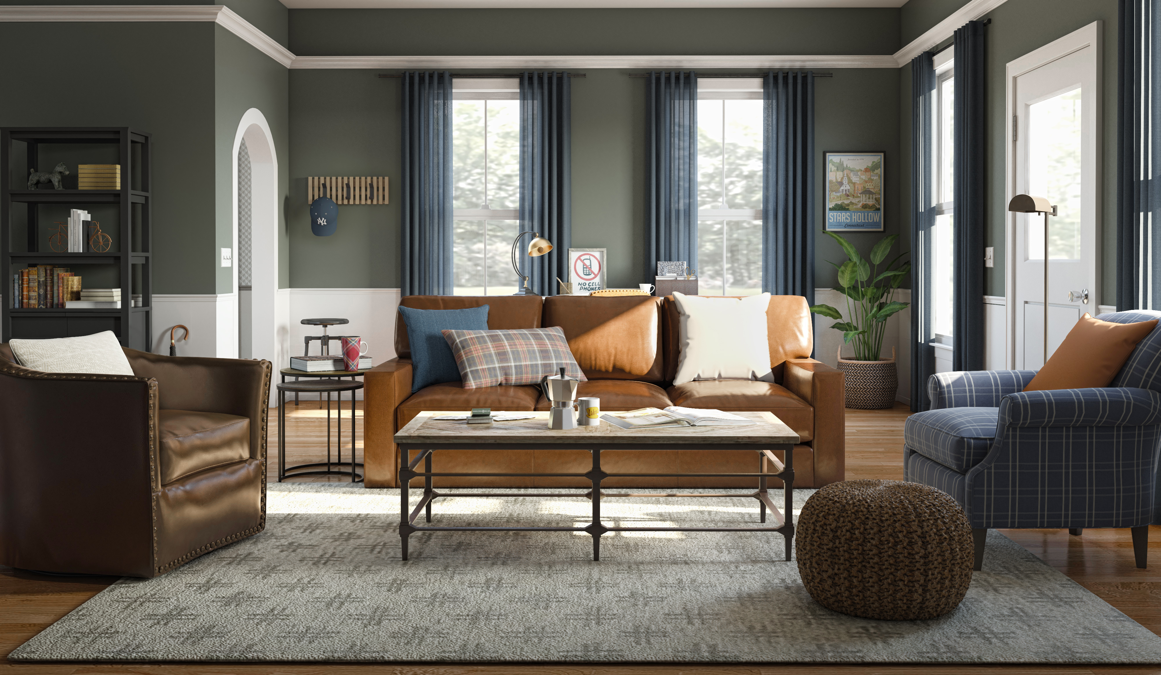 Imagining Modern Rooms for the 'Gilmore Girls' Characters