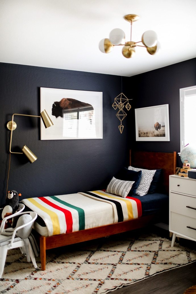 Midcentury Style Is the Secret Ingredient That Your Kids' Bedroom Idea Is Missing