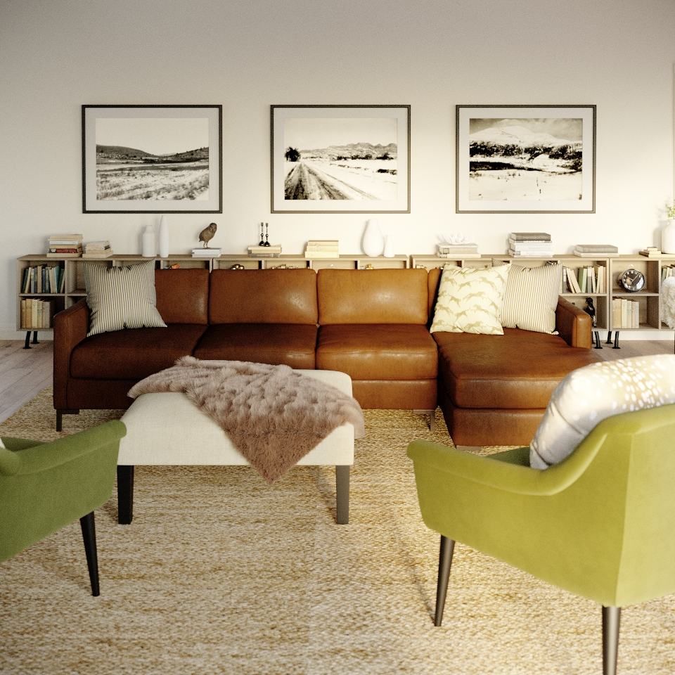 The Inside Released Customizable Leather Couches in Time for Cozy Season