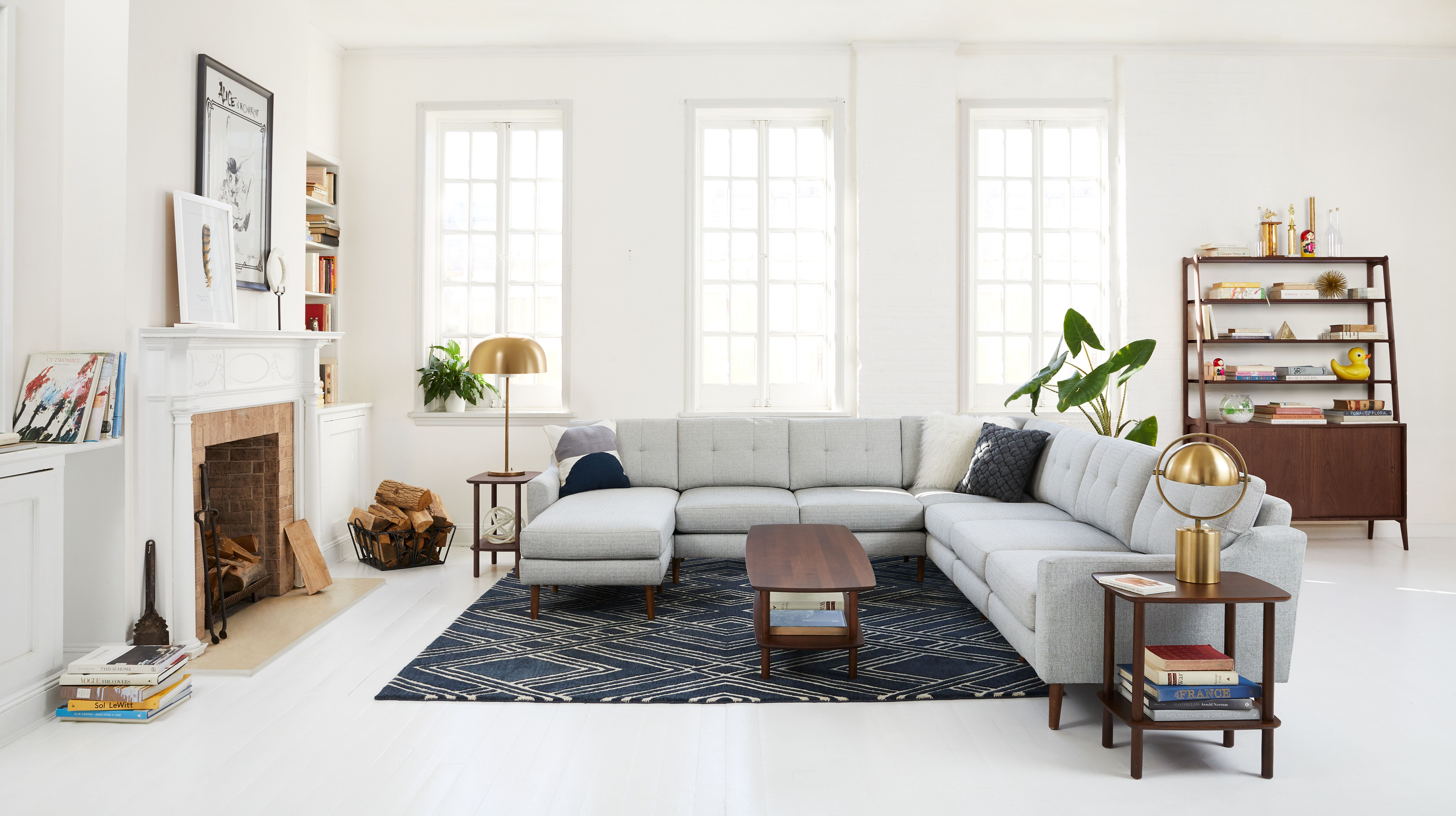 Burrow Just Launched a Line of Rugs That Are Stylish, Durable, and Affordable