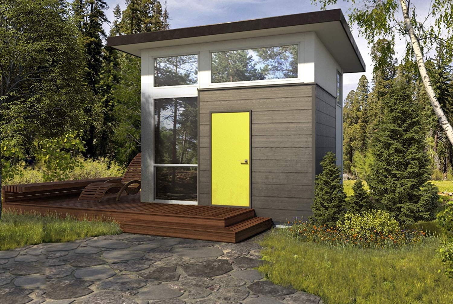 Here's Yet Another Tiny House From Amazon That You Can Add to Cart
