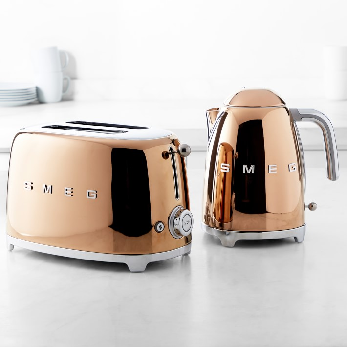 Smeg Just Released a Dreamy, Limited-Edition Rose Gold Line of Appliances