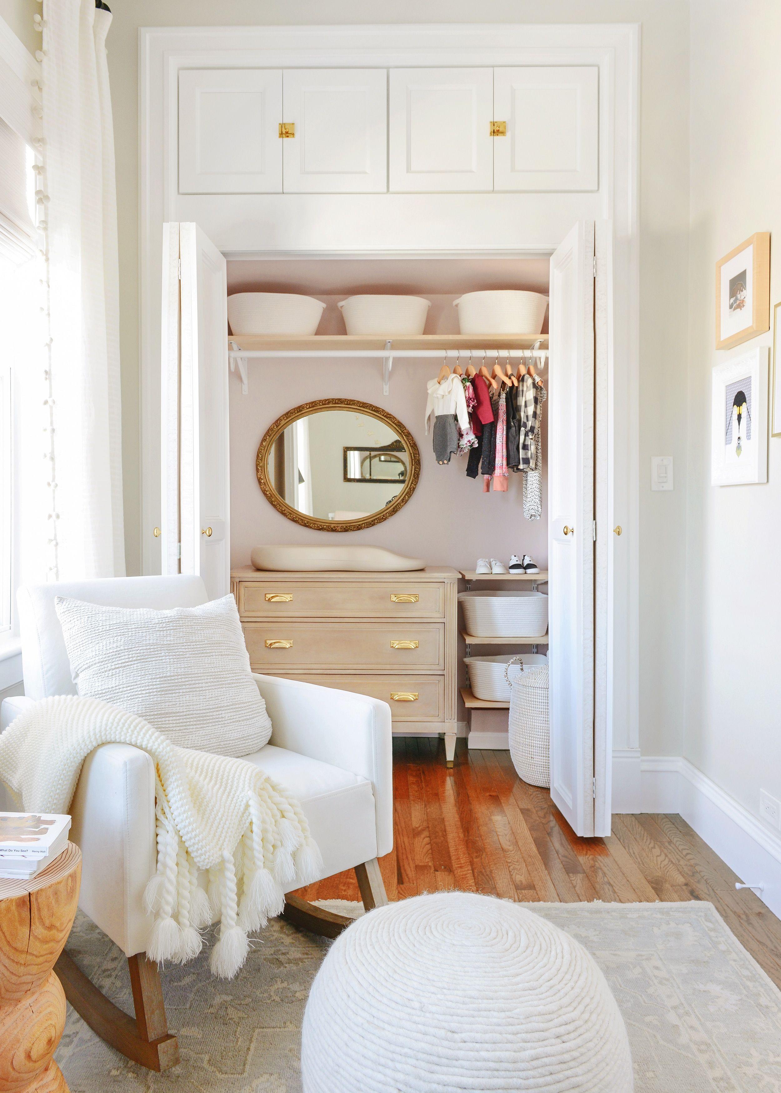 8 Nursery Organization Ideas for Your Baby's Closet
