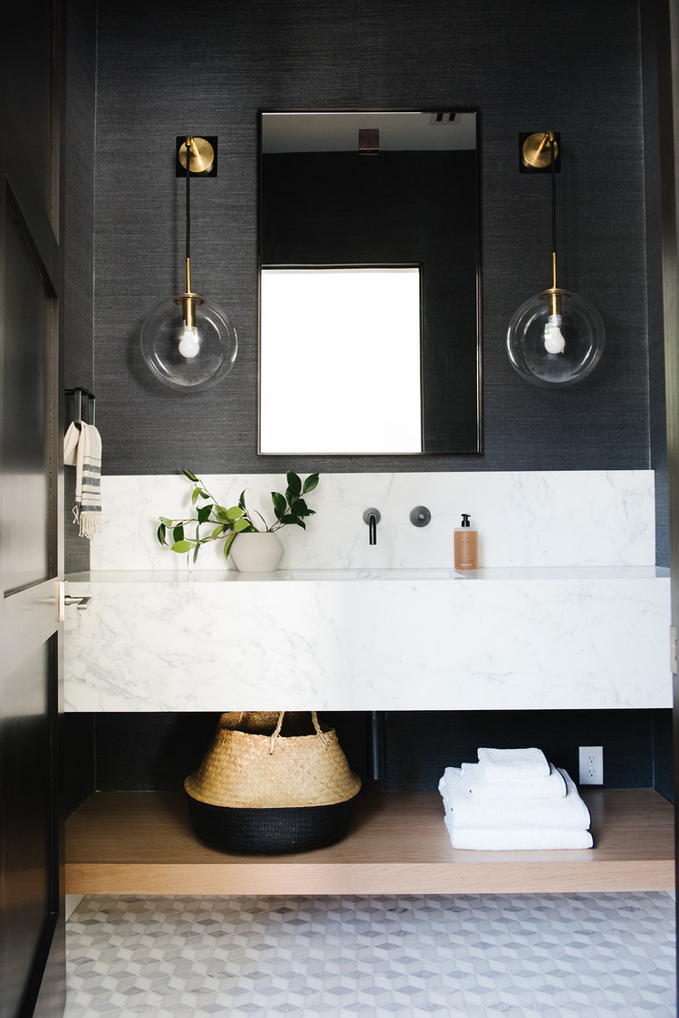 15 Half Bathroom Ideas That Will Make You Forget About Their Size