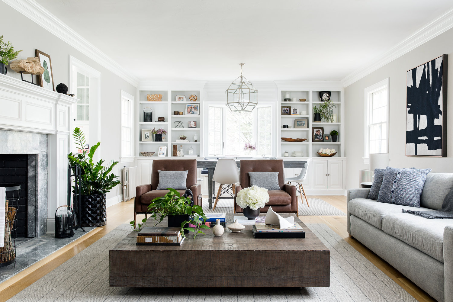 A Nordic-Inspired Port Washington Farmhouse That's the Epitome of Warm Minimalism