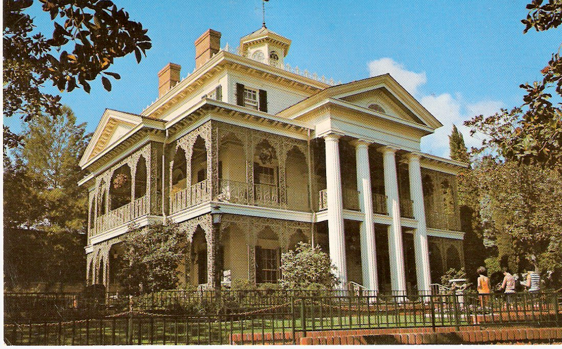The Untold History of the Iconic Wallpaper in Disneyland's Haunted Mansion