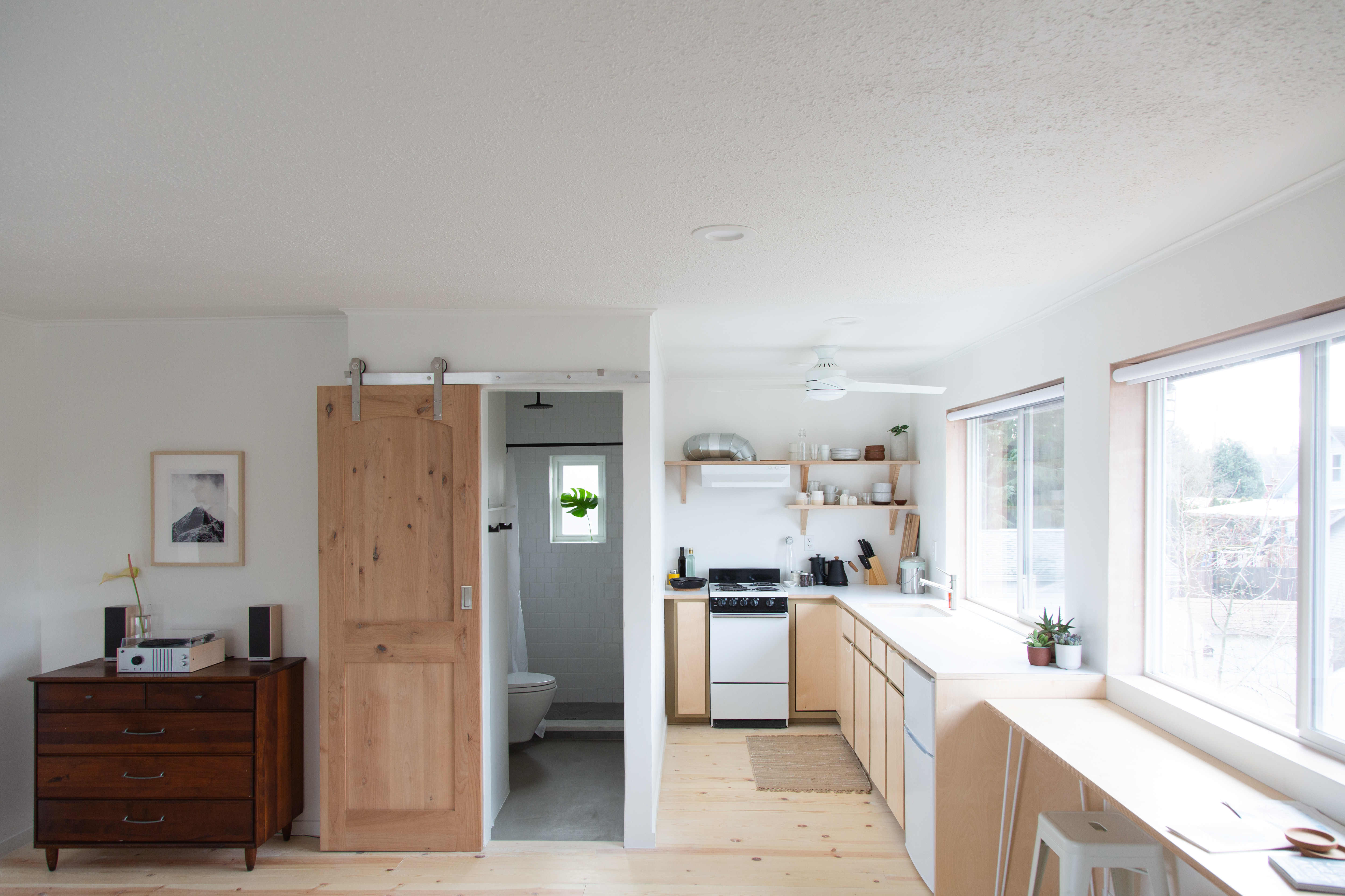 From Dark In-Law Studio to Bright and Airy Guest Unit