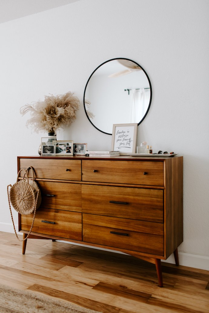8 Dresser Organizing Ideas That'll Keep Your Bedroom From Looking Like a Bomb Went Off