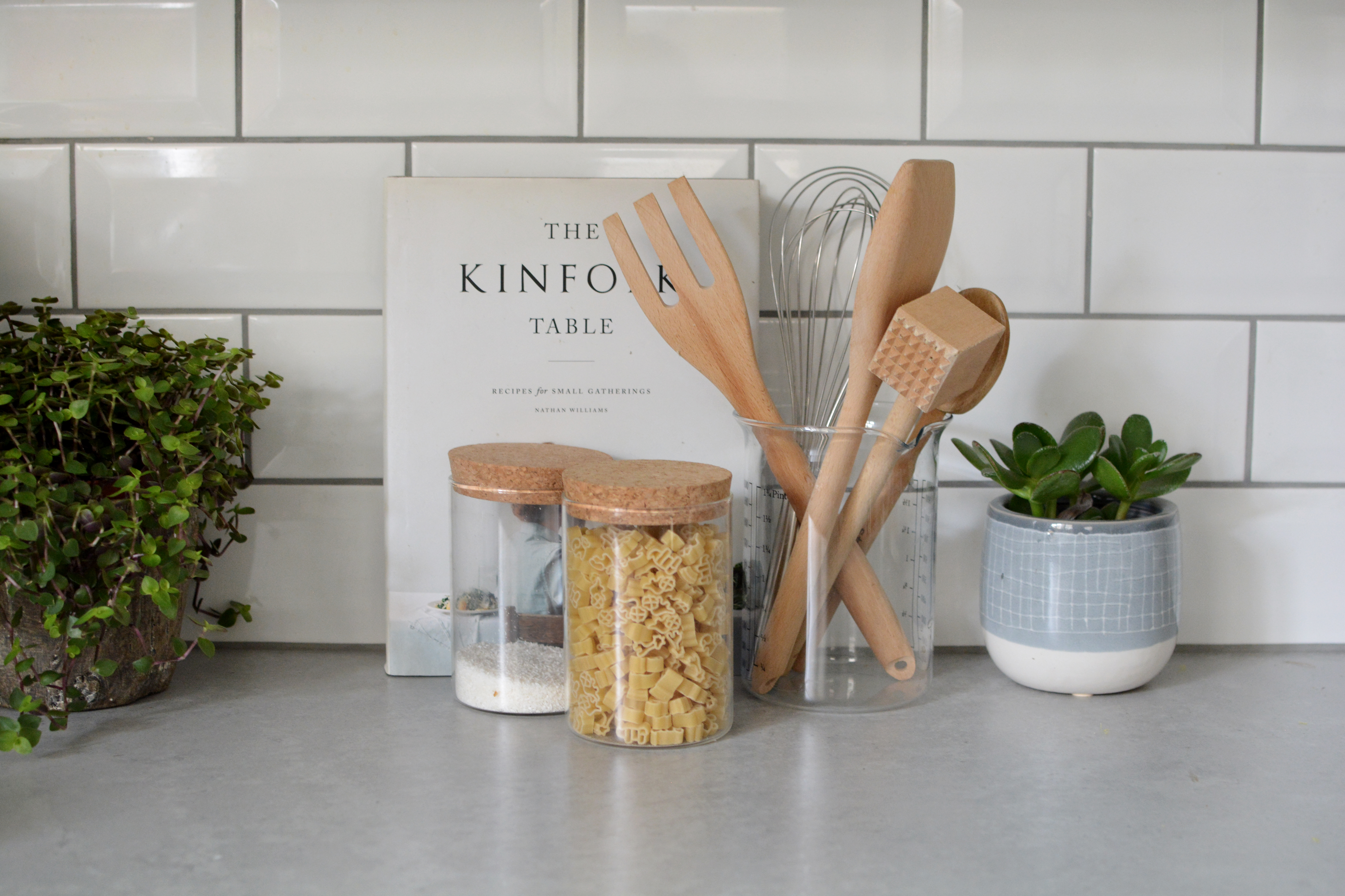 When Kitchen Countertops Need to Be Styled, You Do This
