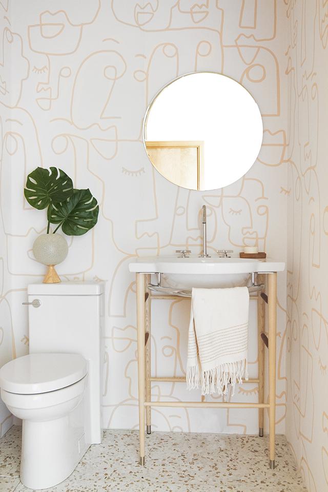 "10 Bathroom Wallpaper Ideas That'll Make Everyone Ask ""Where'd You Get That?"""