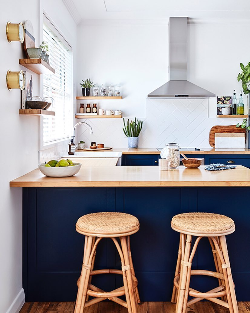 This Bright and Charming Kitchen Is Spring, Personified