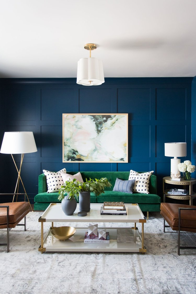 Warning: These Blue Living Room Ideas Will Make You Want to Redecorate Stat