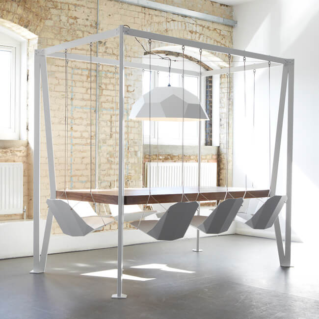If You Love Swing Chairs, Let's Talk About Swing Tables
