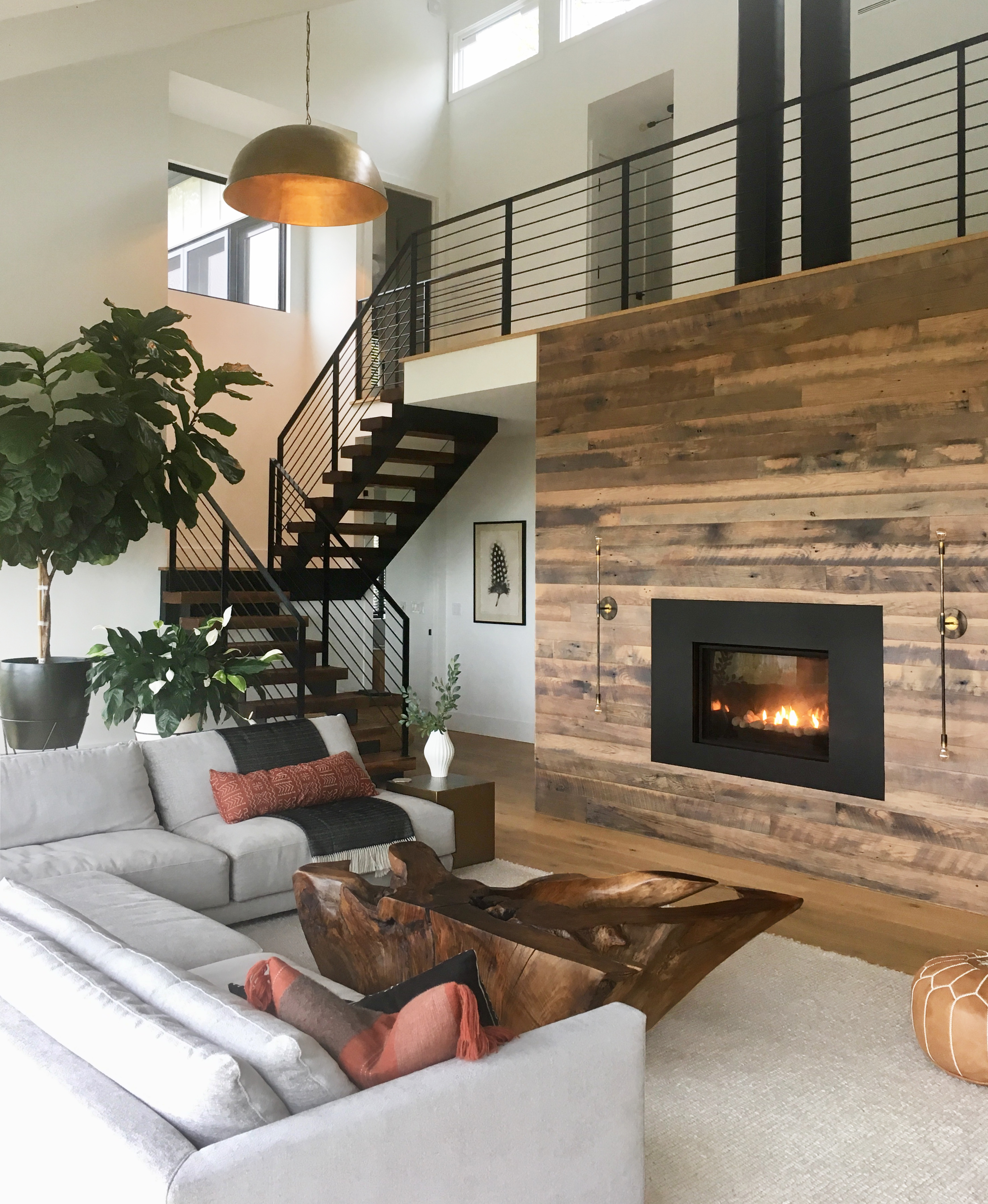 PSA: These Rustic Living Room Ideas Make a Strong Case for Contemporary Country Living