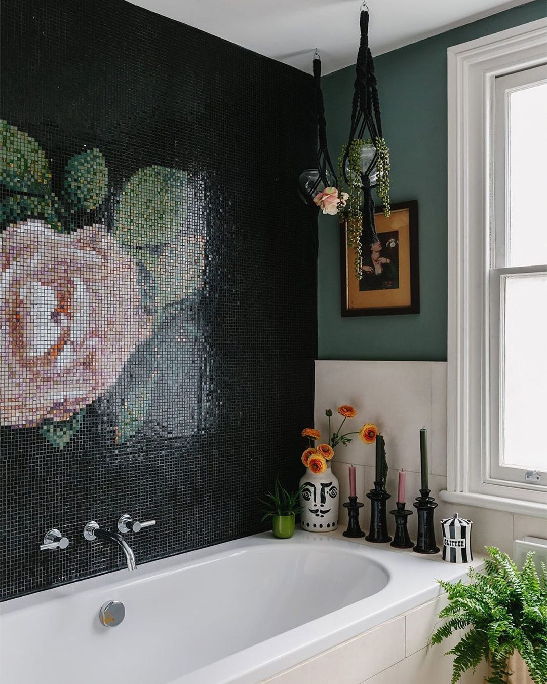 Bathroom Goals: You Need to See This Gorgeous Tile Mosaic