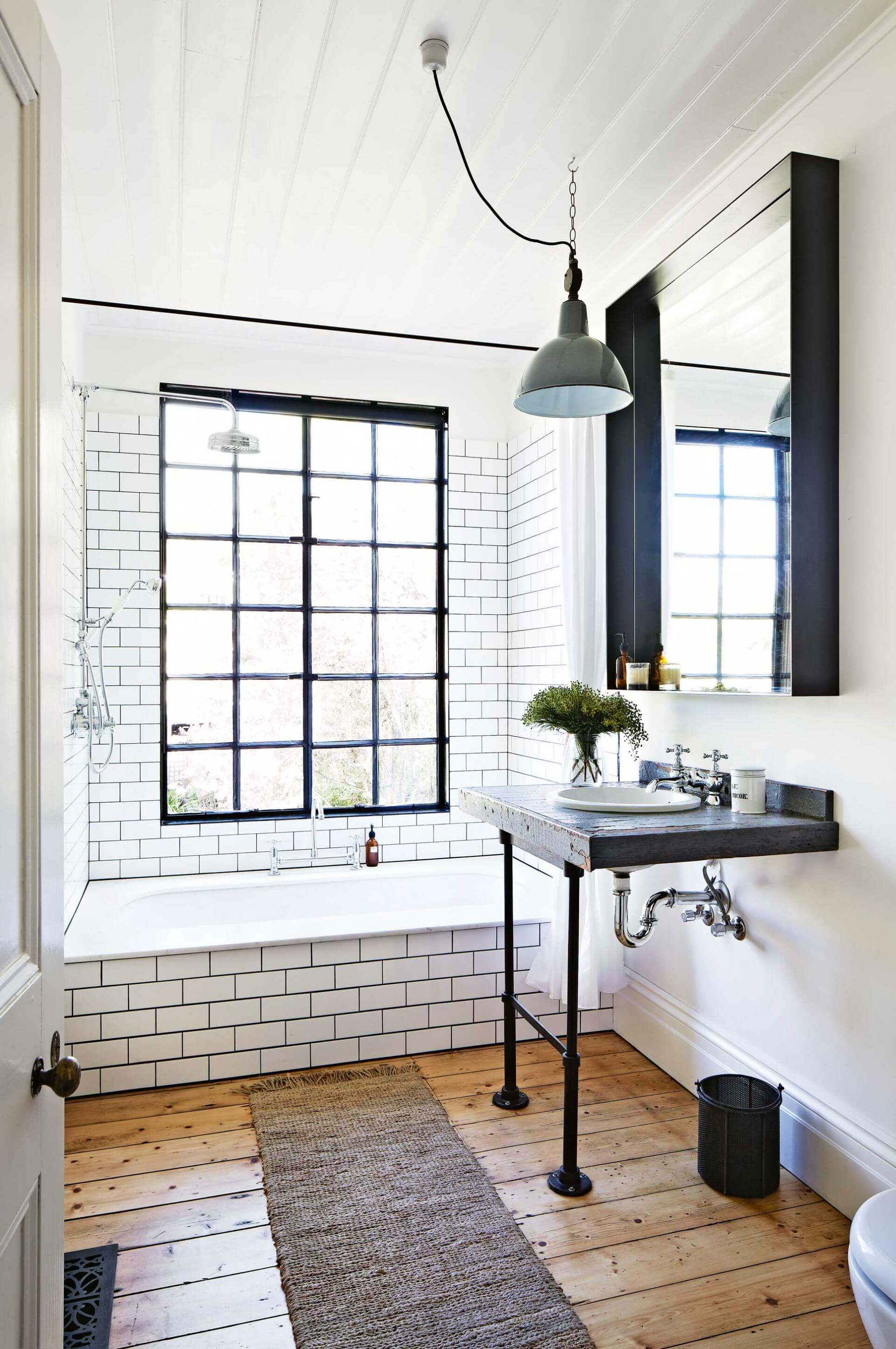11 Stunning Industrial Bathroom Ideas