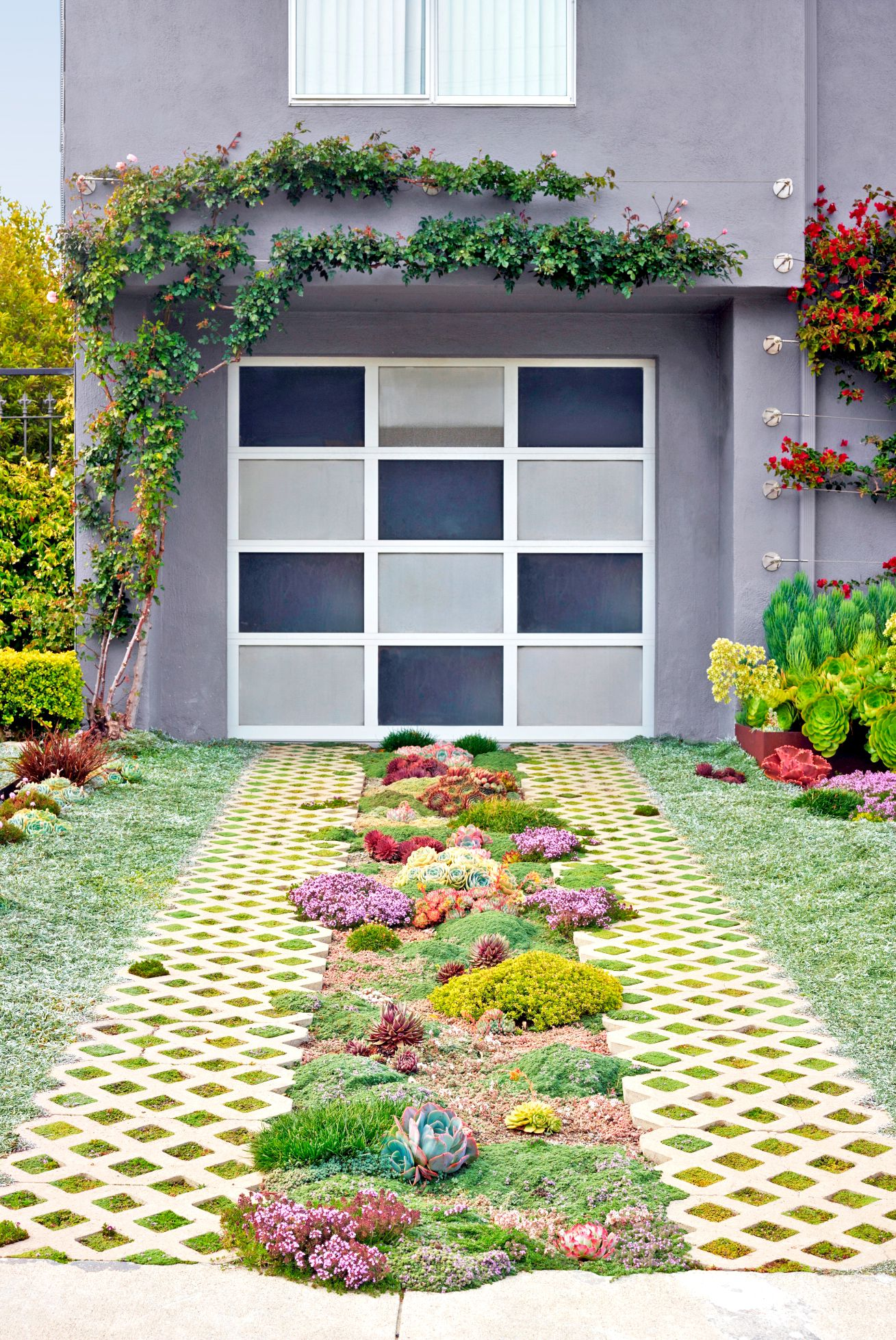 Driveway Gardens Are Totally Trending, and We're Here for It