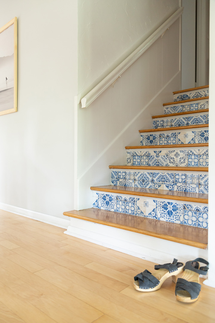 You Really Need to Do This DIY Decor Trick for Your Stairs