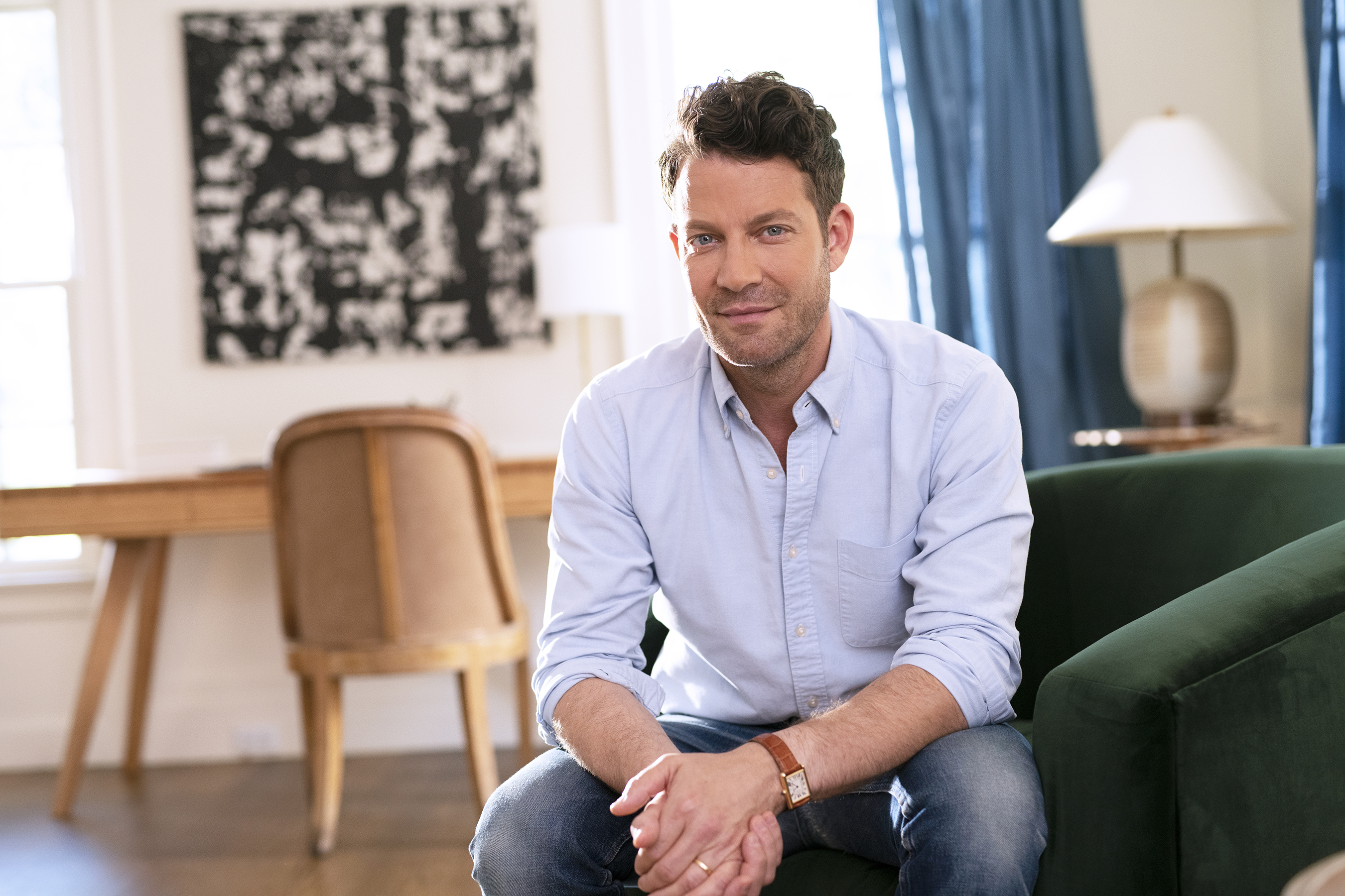 Nate Berkus's Newest Project Focuses On Adapting Spaces For Vision Loss
