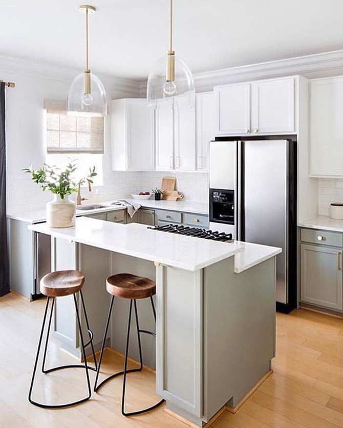 6 Gray and White Kitchen Ideas That Prove the Color Combo Is a Perfect Match