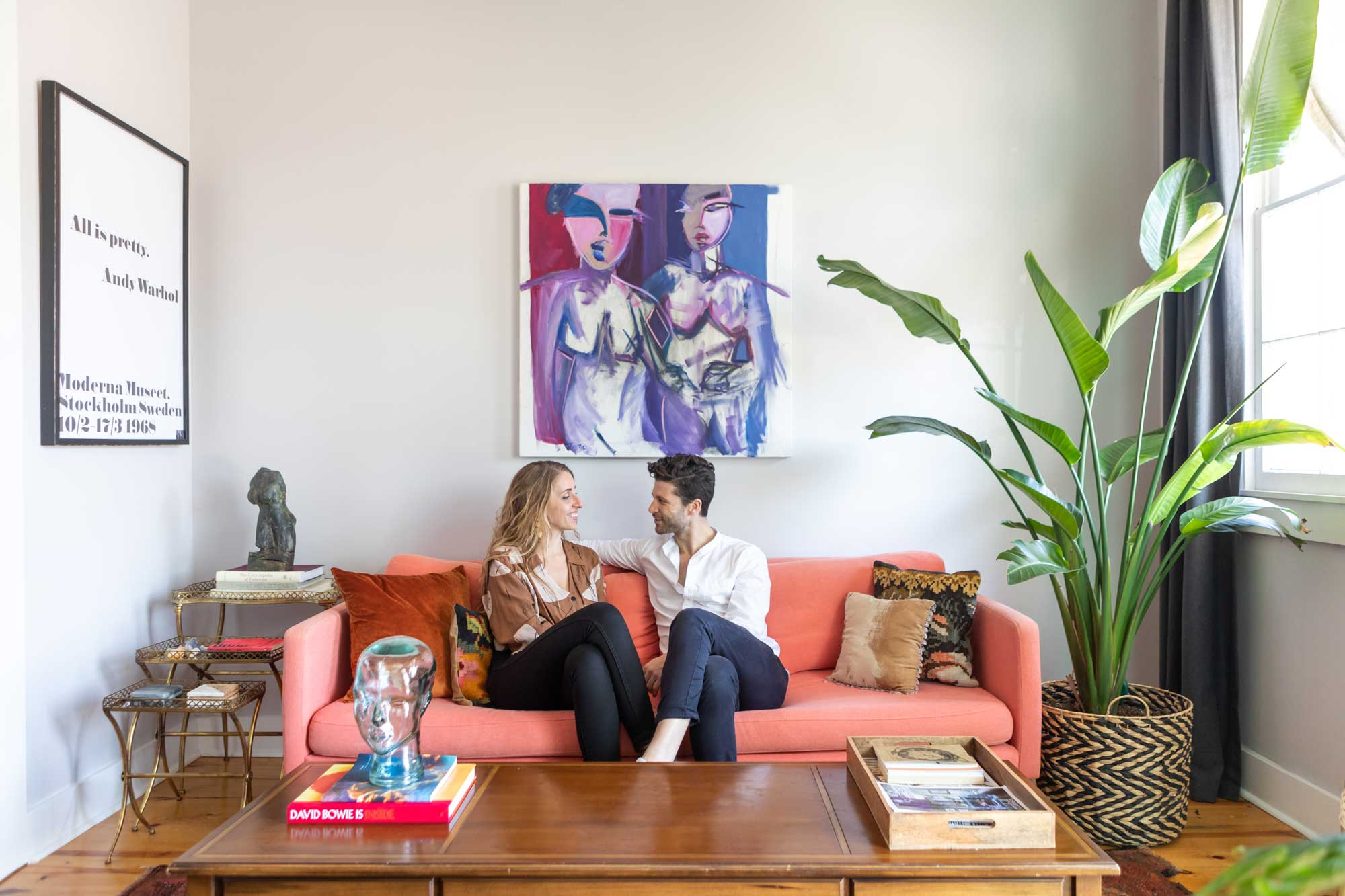 A Gut Reno Turned This New Orleans Row House Into a Cool, Eclectic Space
