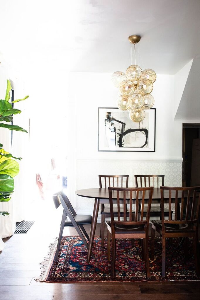 We Are So Here for These 9 Contemporary Dining Room Lighting Ideas