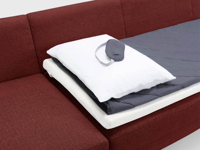 This Sleep Kit Will Have Your Overnight Guests Begging to Sleep on the Couch