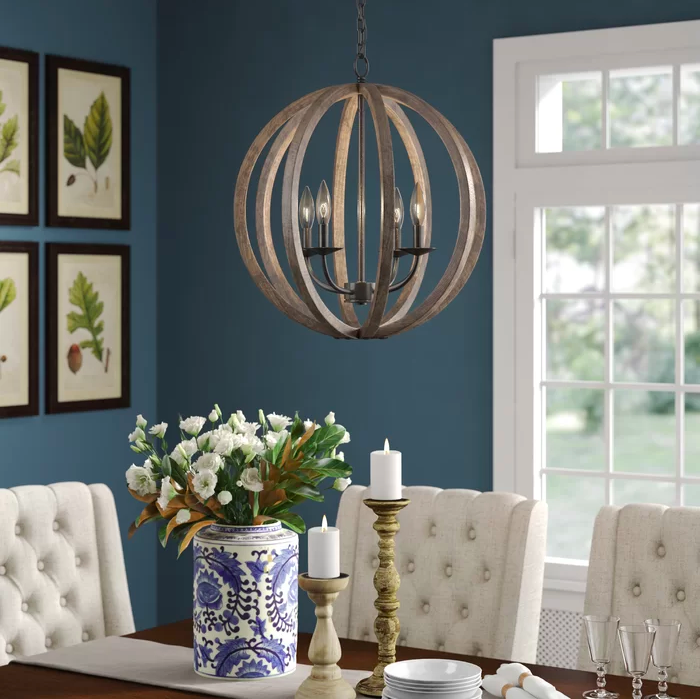 5 Farmhouse Dining Room Lighting Ideas That Will Make Chip and Joanna Proud