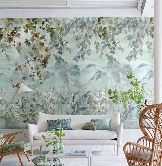 Intimidated by Wallpaper? We've Got You and Your Living Room Covered