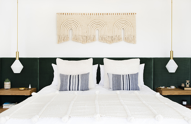 Forget the Eye Mask and Silk Pillowcase, Midcentury Bedroom Lighting Is All You Really Need