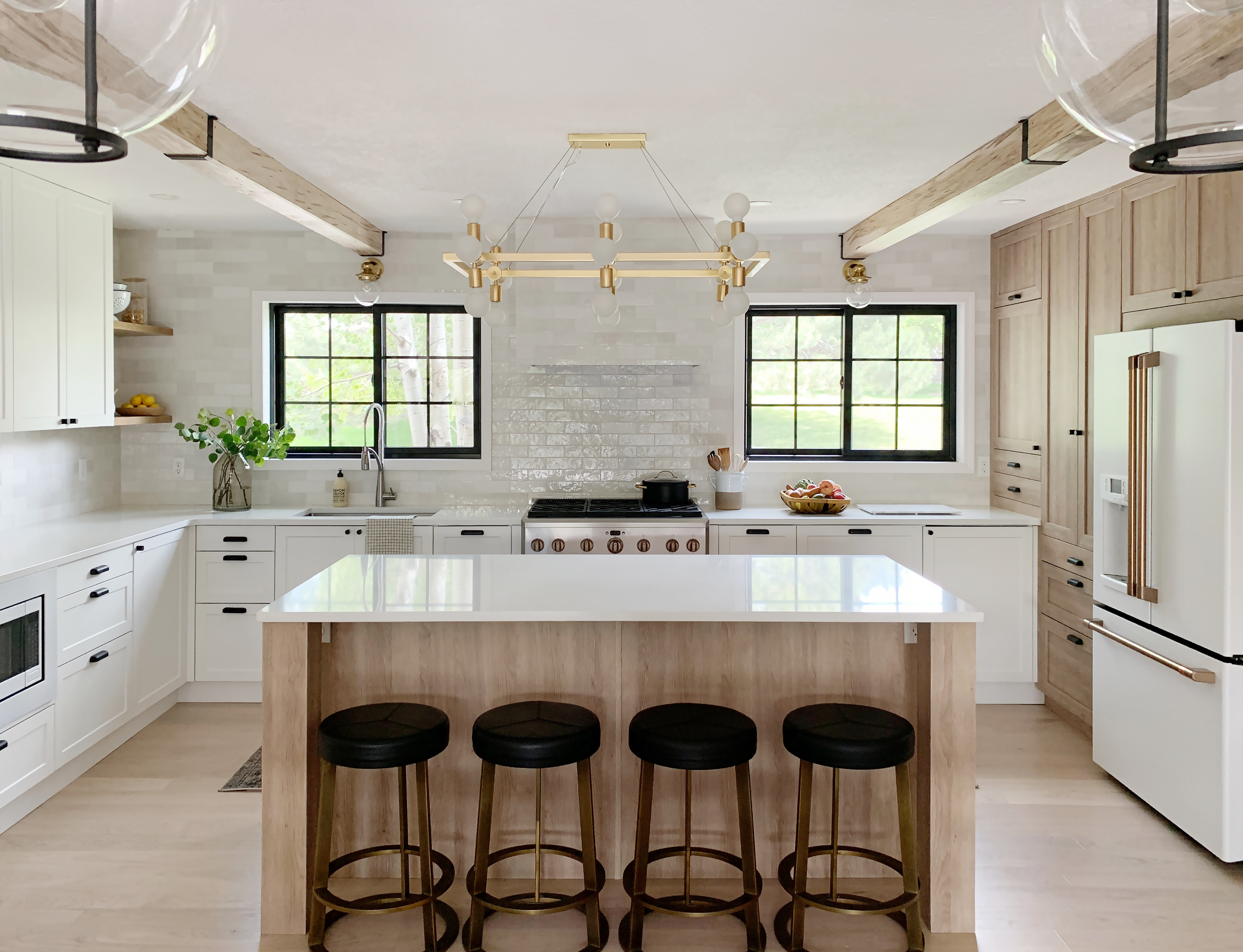 This Stunning Kitchen Makeover by Chris Loves Julia Features an Ingenious IKEA Hack