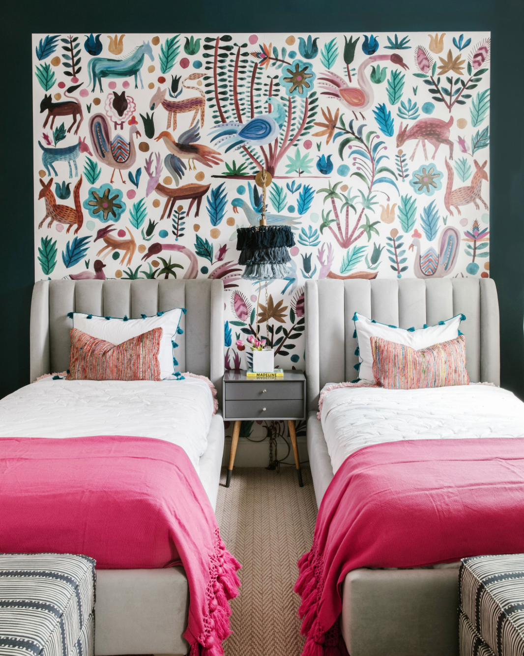 Here's How to Go Boho in the Bedroom (Hint: It's All About the Lighting)