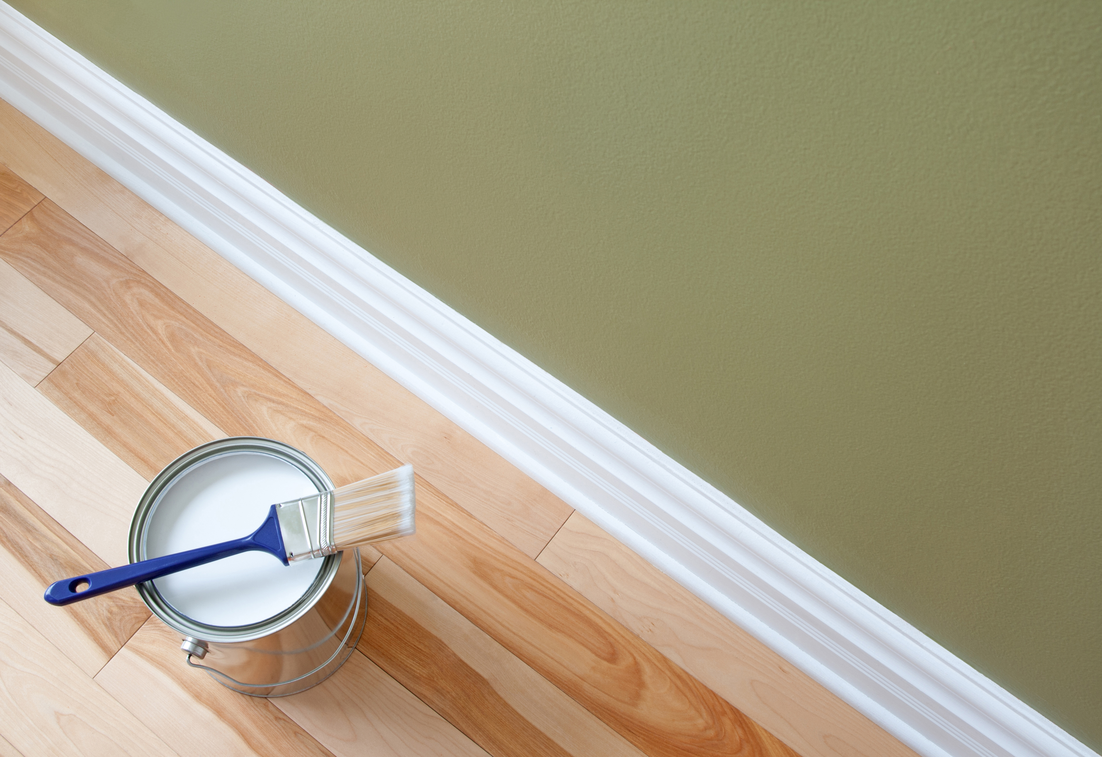 How to Paint Baseboard Moldings