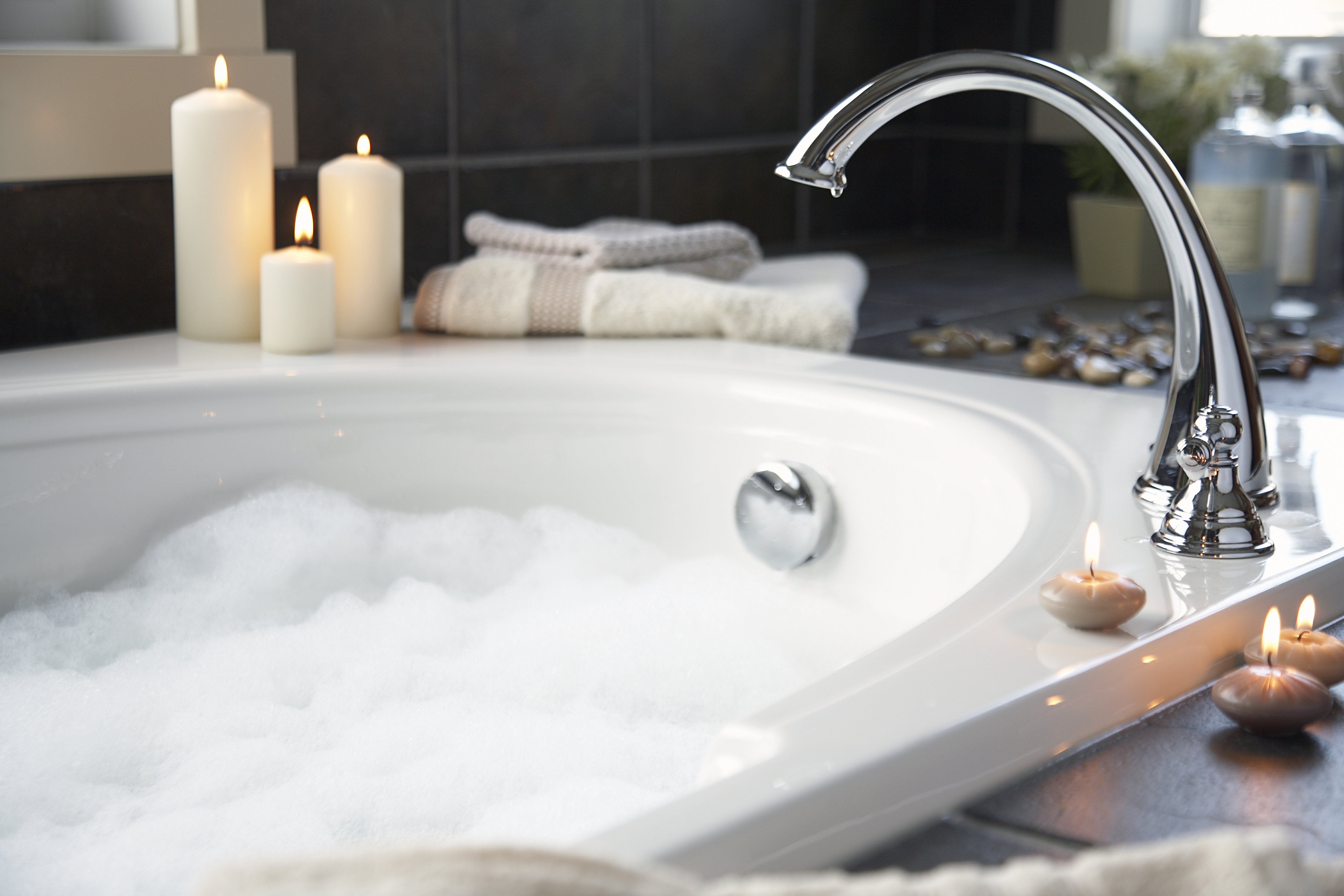 Bath Products for a Whirlpool Tub