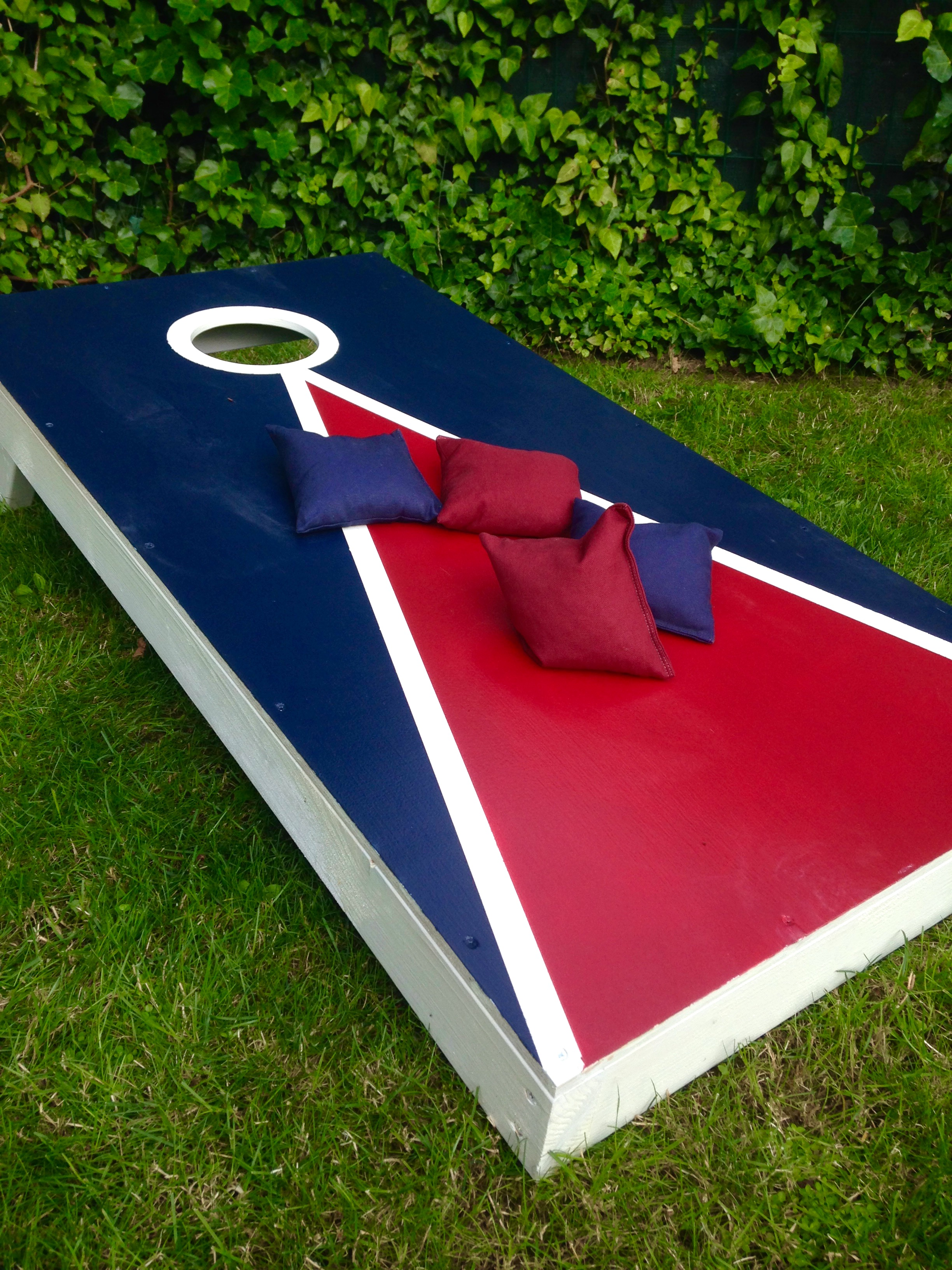 How to Build Cornhole Game Boards