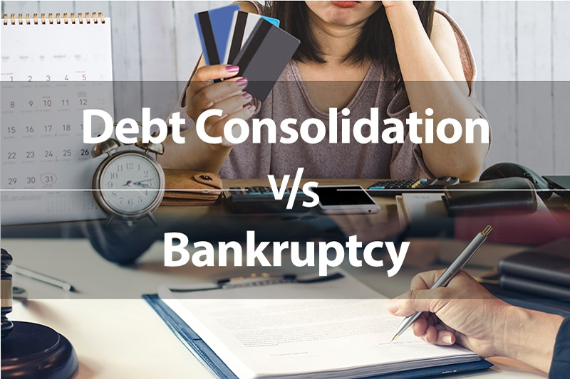 Debt Consolidation vs. Bankruptcy: Which Is Right for You?