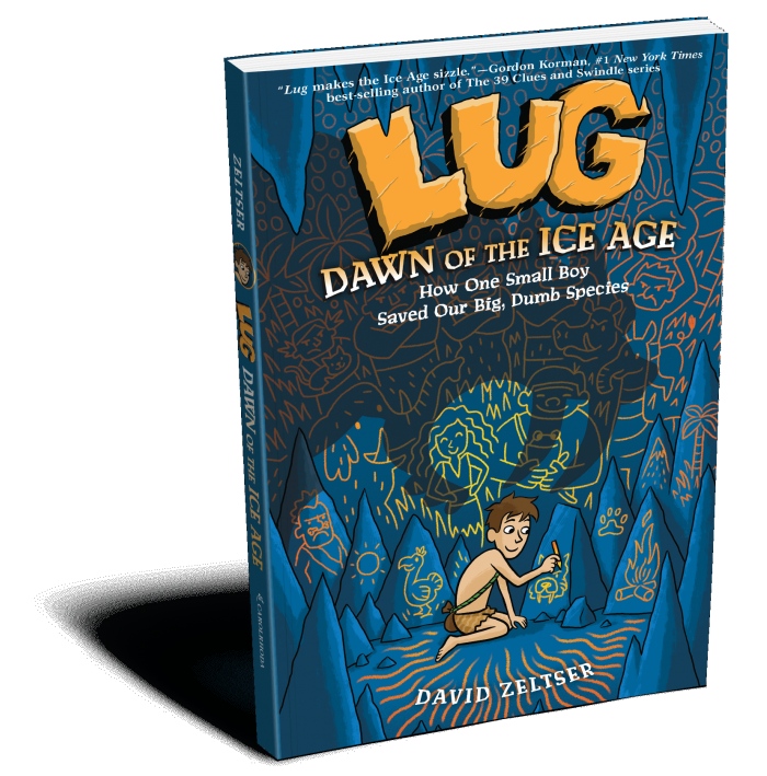 LUG: Dawn of the Ice Age Book Cover