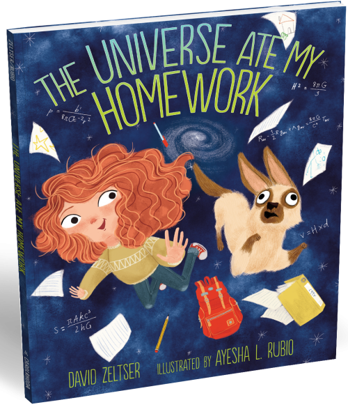 The Universe Ate My Homework Book Cover