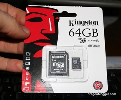 Kingston 64gb microsd