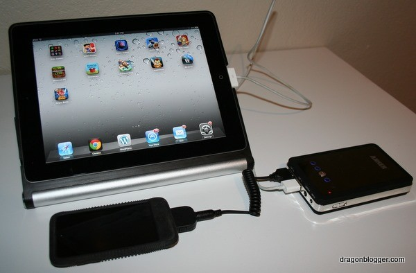 anker astro 3 powering ipad iphone