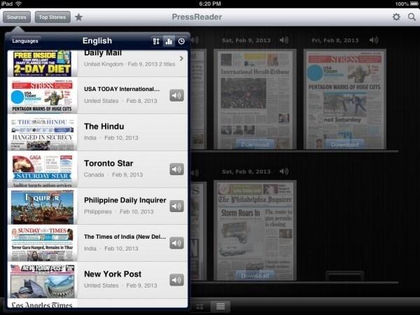 pressreader-newspapers