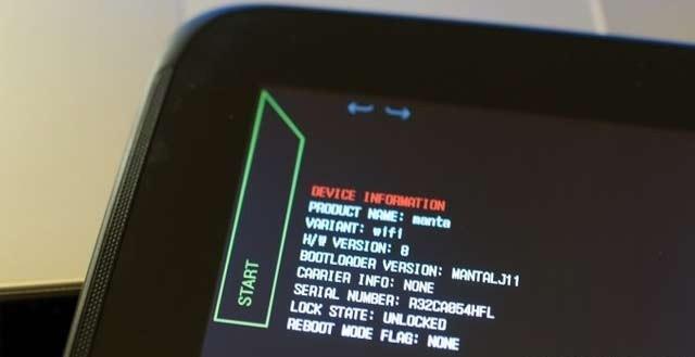 Unlock The Nexus 10 Bootloader