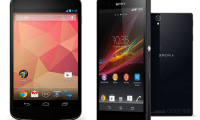 Sony Xperia Z Against the Nexus 4